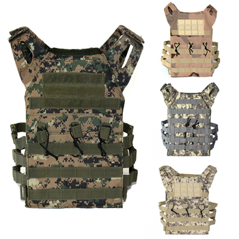 New Camoufalge Tactical Vest Military Airsoft Paintball Sport Molle Plate Carrier Vest Men Hunting Shooting Body Armor 9 Colors military army combat jpc plate carrier molle vest tactical outdoor hunting shooting men airsoft paintball protective body armor