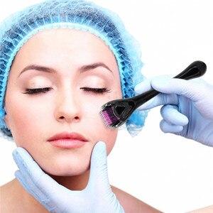 Image 2 - מיקרו מחט 540 רולר Derma רולר Dermaroller טיטניום שיער לצמיחה מחודשת צמיחת זקן אנטי נשירת שיער טיפול דליל נסוג
