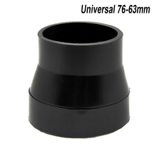 Universal 76-63mm Car Air Intake System Filter Pipe Tube Hose 3-2.5 Inches Rubber Connector Accessories