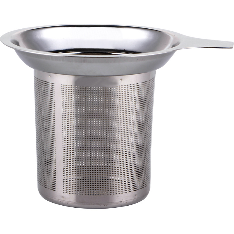 1pcs Reusable 304 Stainless Steel Mesh Tea Infuser Tea Strainer Teapot Tea Leaf Spice Filter Drinkware Kitchen Accessories