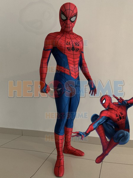 Ultimate Alliance 3 Spiderman Adults Kids Cosplay Costume 3D Print Spandex Zentai Bodysuit  Cosplay Spiderman Superhero Costume