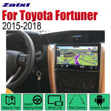 ZaiXi Android 2 Din Auto Radio DVD For Toyota Fortuner SW4 2015~2018 Car Multimedia Player GPS Navigation System Radio Stereo 2 din car multimedia player android auto radio for mini one cooper s hatch 2018 2019 dvd gps car radio stereo gps navigation