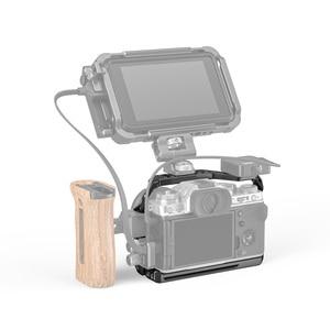 """Image 5 - SmallRig X T4 מצלמה כלוב עבור FUJIFILM X T4 אלומיניום סגסוגת כלוב עם קר נעל הר/נאט""""ו רכבת מצלמה וידאו אבזרים 2808"""