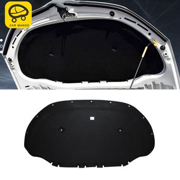 CarManGo samochodów przednia maska silnika Firewall Mat Pad Deadener ciepła izolacja akustyczna bawełna dla Skoda Octavia 5E Mk3 2012-2019 tanie i dobre opinie CN (pochodzenie) Kaptur Izolacja akustyczna Blachy Gumy Piankowej
