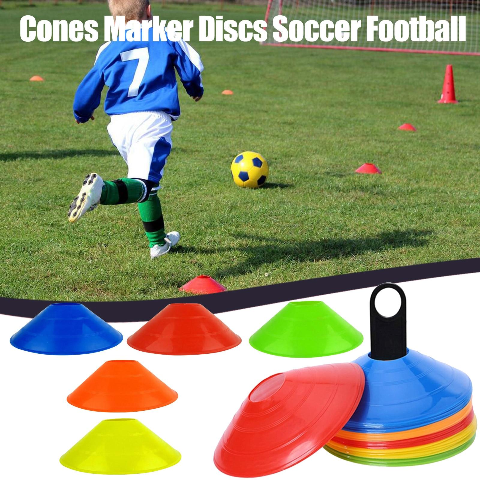 25 # маркерные конусы для атлетики, кросс-тренировок, футбола, тренировок, спортивных блюдец, конусы, маркерные диски, развлекательные аксесс...