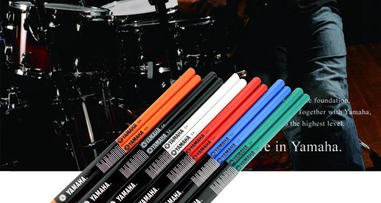 Baterii profesionale 5A 7A Yamaha lemn de arț - Instrumente muzicale - Fotografie 5