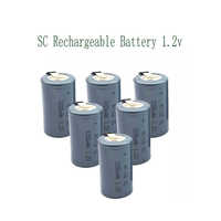 SC 3200mah 1.2V 22*42 Ni-CD Rechargeable Battery Sub C with An Extension Cord Processed Into Tools Battery Pack
