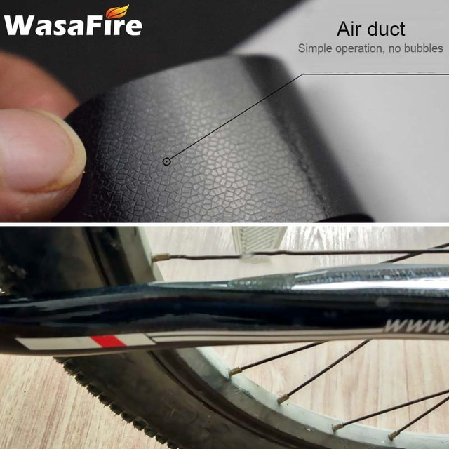 didatecar Bicycle Chain Guard Sticker Road Bike Folding Frame Front Fork Protective Film Scratch-Resistant Rhinoceros Hide Sticker