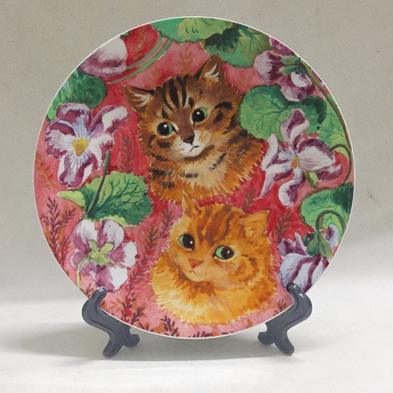 Louis Wain Plate at The Great Cat Store