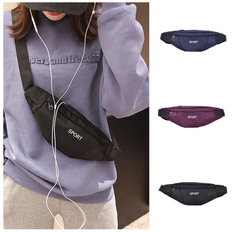 NoEnName-Null 2019 Women Waist Fanny Pack Belt Bag Travel Hip Bum Bag Small Purse Chest Pouch
