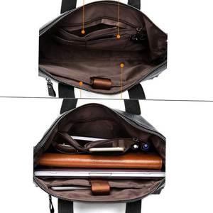 Image 4 - MVA الرجال حقائب جلدية حقيقية حقائب الرجال حقيبة حقائب حقائب مكتبية حقيبة رجالية جلدية حقيبة لابتوب الأعمال حقائب