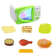 Ролевые игры веселое взаимодействие родитель-ребенок вращения рук способности ролевые микроволновая печь с поддельной еды интерес тренировки ума