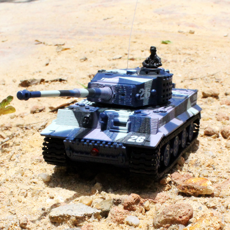 Great Wall 2117 Remote Control Mini Tank Germany Tiger-type Model Tanks Military Model Car Toy