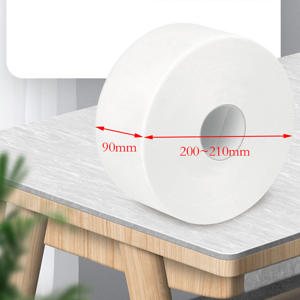 500g Top Quality Jumbo Roll Toilet Paper 3-Layer Native Wood Soft Toilet Paper Pulp Home Rolling Paper Strong Water Absorption