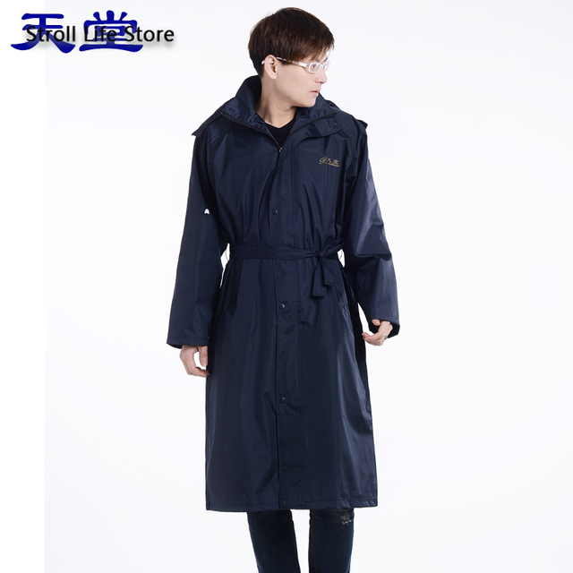 Adult Men Windbreaker Rain Coat Women Outdoor Long Rain Coat Travel Hiking Rain Poncho Trench Coat Men Waterproof Suit Gift 5
