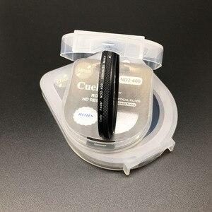 Image 3 - 40.5 49 52 55 58 62 67 72 77 82 millimetri ND Fader ND2 400 Variabile Filtro a Densità Neutra per Canon nikon Camera Lens di Sony
