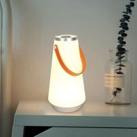 Touch Control LED Nachtlicht USB Aufladbare Nacht Lampe Tragbare Camping Lampe Dimmbar Warmweiß Licht Für Outdoor Home