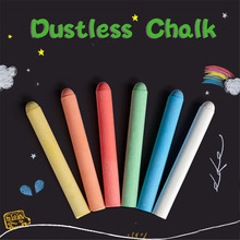 Chalk-Pens Blackboard Colorful Removable Dustless Water-Soluble School for Stationery