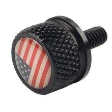 Мотоцикл модифицированный задний винт сиденья 6 мм круглая подушка винт чпу различные личности Подушка винт крышка