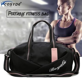 Gym Bag Woman Outdoor Training Fitness Bag For Women Handbags 2020 Duffle Weekend Bag Multifunction Mens Sports Bags On Shoulder 1
