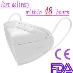 10Pcs 6 Layers PM2.5 N95 Face Mask Safety Protective Mask FFP3 Mask Reusable Masks N95 Mouth Mask Filter Better Than ffp2 kf94 1
