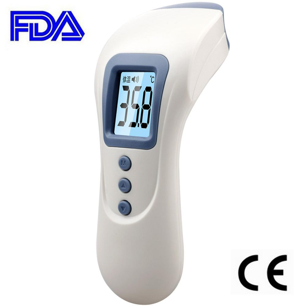 Digital Multifunction Infrared Thermometer Non Contact LCD Backlight Baby Adult Forehead Body Medical Temperature Monitor CE