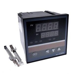 Image 3 - REX C100 intelligente PID regolatore di temperatura REX C100 C400 C700 C900 Termostato SSR Relè di uscita
