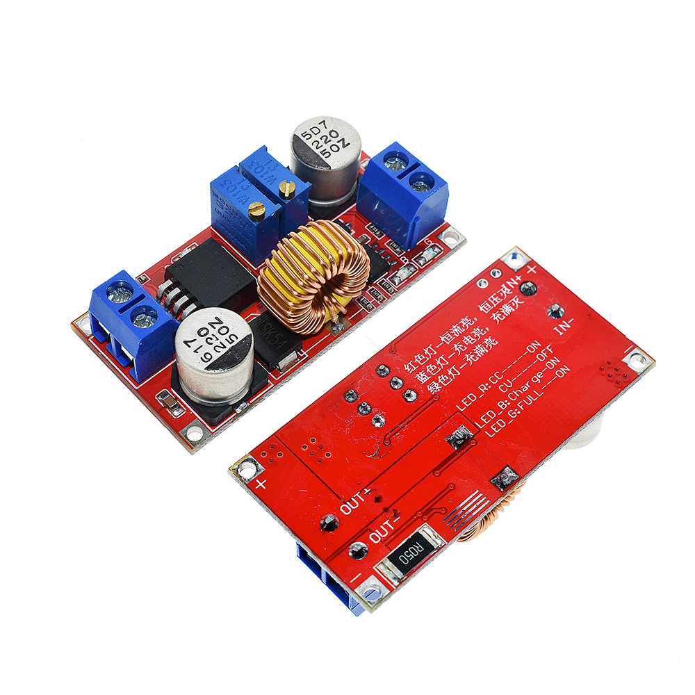 Original 5A 12A DC to DC CC CV Lithium Battery Step down Charging Board Led Power Converter Lithium Charger Step Down Module 5
