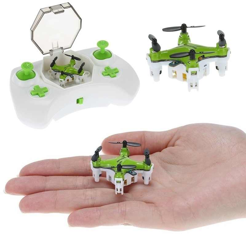 Mini Drone FY804 4CH 2.4G 6Axis 360 Derajat Roll Mini Helikopter LED Model Pesawat Mainan RC Pesawat