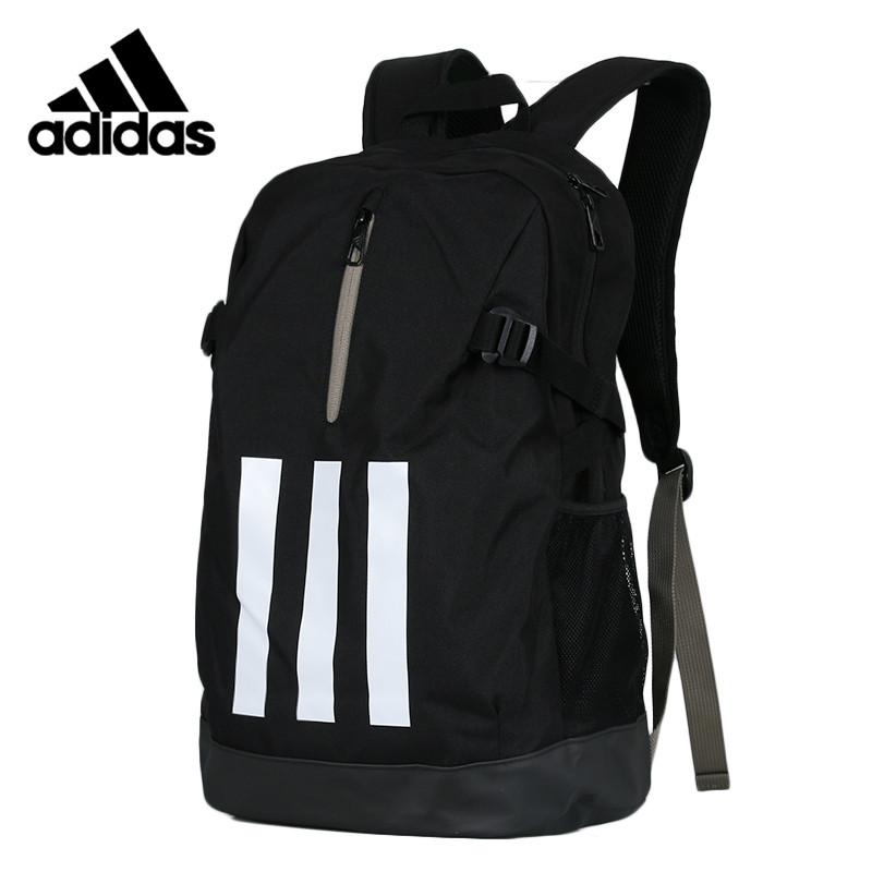 Original  Adidas POW FAT 3S Unisex Backpacks Black Sports Training Bags Computer Package DM2894