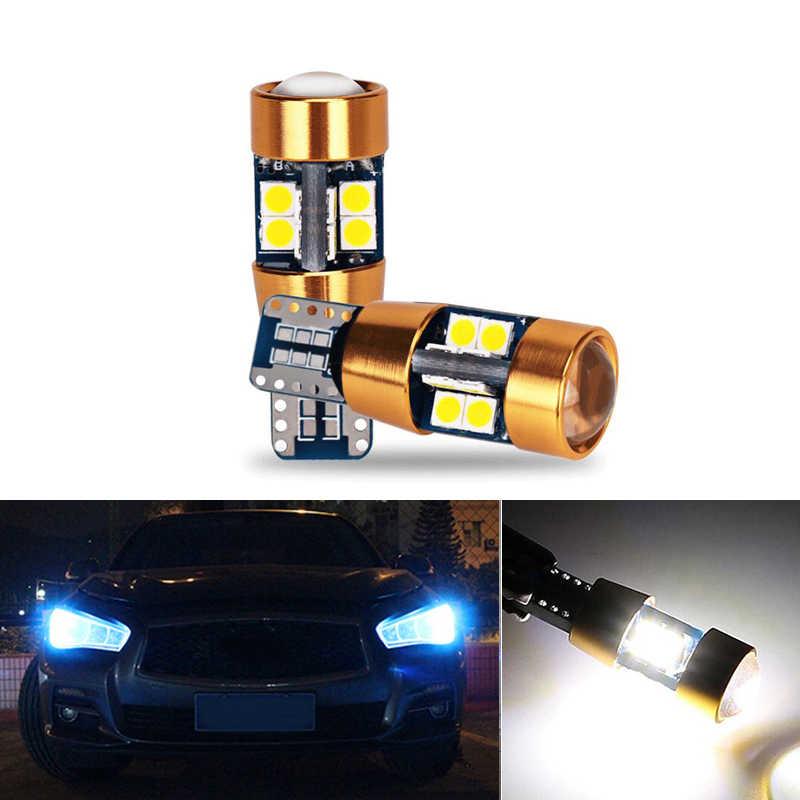 2x T10 LED 3030 W5W Samsung Auto HA CONDOTTO LA Lampada Auto Luce Lampadine Per Infiniti Q50 Q60 Q70 Q80 QX30 QX50 QX56 QX60 QX70 QX80 G25 G35 G37