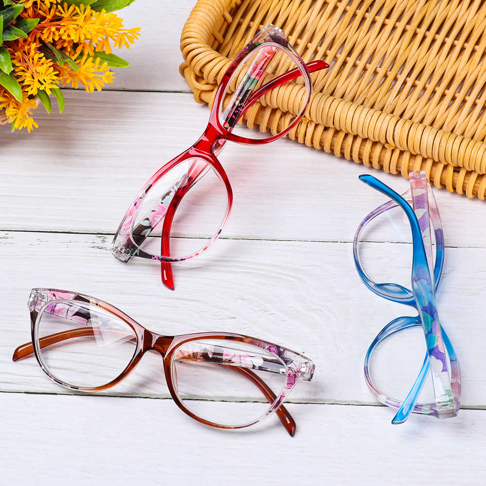 Unisex CAT EYE แว่นตา ULTRA LIGHT เรซิ่น Presbyopic แว่นตาอ่านหนังสือ Diopter + 1.0 ~ + 4.0 Presbyopia Vision Care แว่นตา