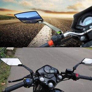 Image 5 - Para Yamaha x max 125, 250, 400, 300 VMAX 1700, 1200 de 125 WR250F de la motocicleta espejo Scooter E bicicleta espejos retrovisores laterales Negro
