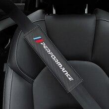 Чехол для автомобильного ремня, защитный ремень для BMW M X1 X3 X5 X6 E46 E39 E90 E36 E60 E34 E30 F30, 2 шт.