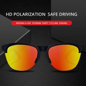 Image 3 - KDEAM Lifestyle Mens Sunglasses Polarized Driving Sun Glasses for Women TR90 Semi rimless Frame Ultra Light Shades