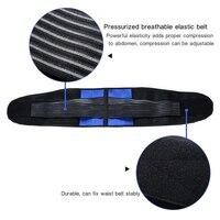 Adjustable Neoprene Double Pull Back Support Belt Plus Size