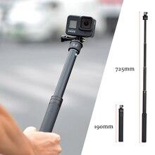 Aluminum Selfie Stick Handheld Extendable Camera Monopod for Phone Gopro 6 5 7 8 Sjcam Sj7 Yi 4K for GoPro Accessory