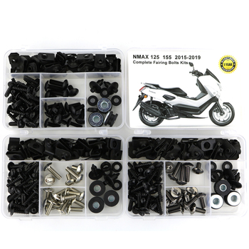 For Yamaha NMAX 125 NMAX155 2015 2016 2017 2018 2019 Complete Full Fairing Bolts Kit Fairing Clip Speed Nut Motorcycle
