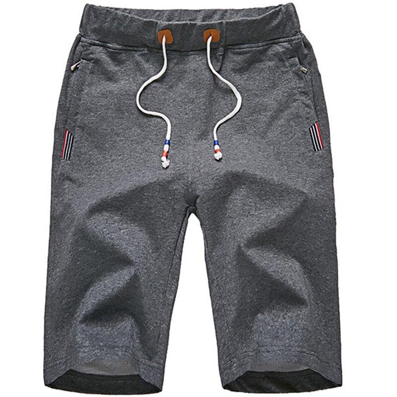 Men's Fitness Bodybuilding Shorts Plus Size L-7XL 8XL Summer Breathable Elastic Shorts Men Cotton Sportswear Jogger Beach Short