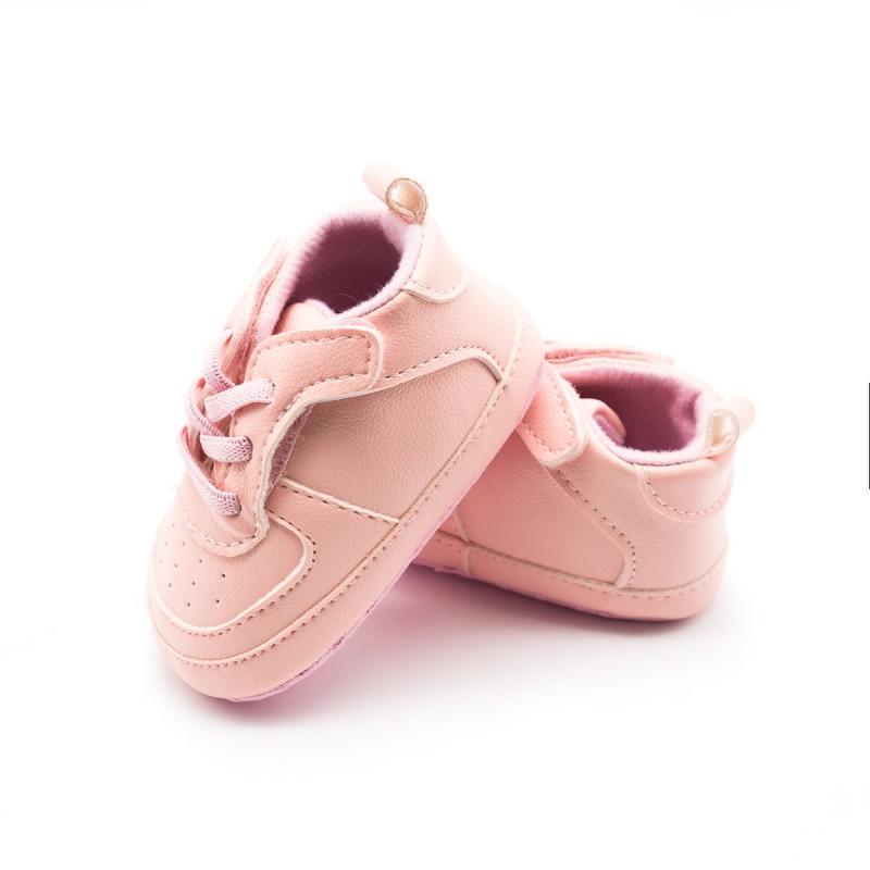Soft Bottom Soled PU Booty Shoes First Walker Unisex First Walkers Spring Autumn Toddler Prewalker All For Newborns 3-12M