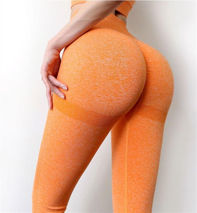 Seamless Leggings Push Up Bubble Butt Sport Women Fitness Gym High Waist Leggings Workout Anti Cellulite Compression Legging 6