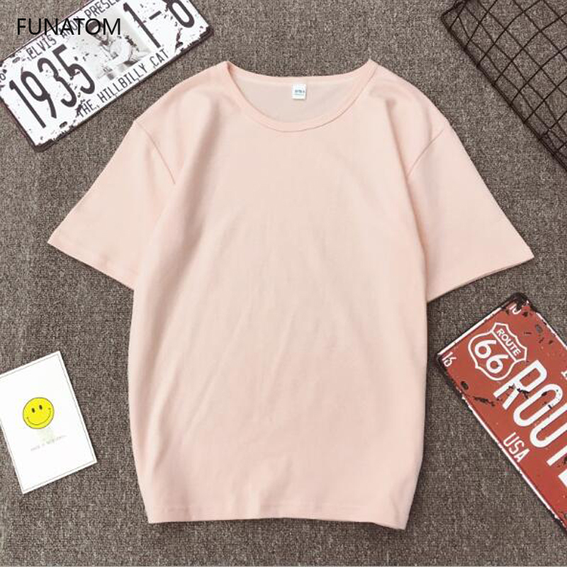 Fashion Solid Color Women   T     shirt   Spring Summer Short Sleeve O Neck Cotton Spandex Women Tops Casual Slim Female   T  -  shirt