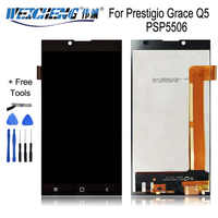 WEICHENG For Prestigio Grace Q5 PSP5506 Duo PSP5506Duo LCD Display +Touch Screen Assembly For PSP 5506 lcd Digitizer +free tools
