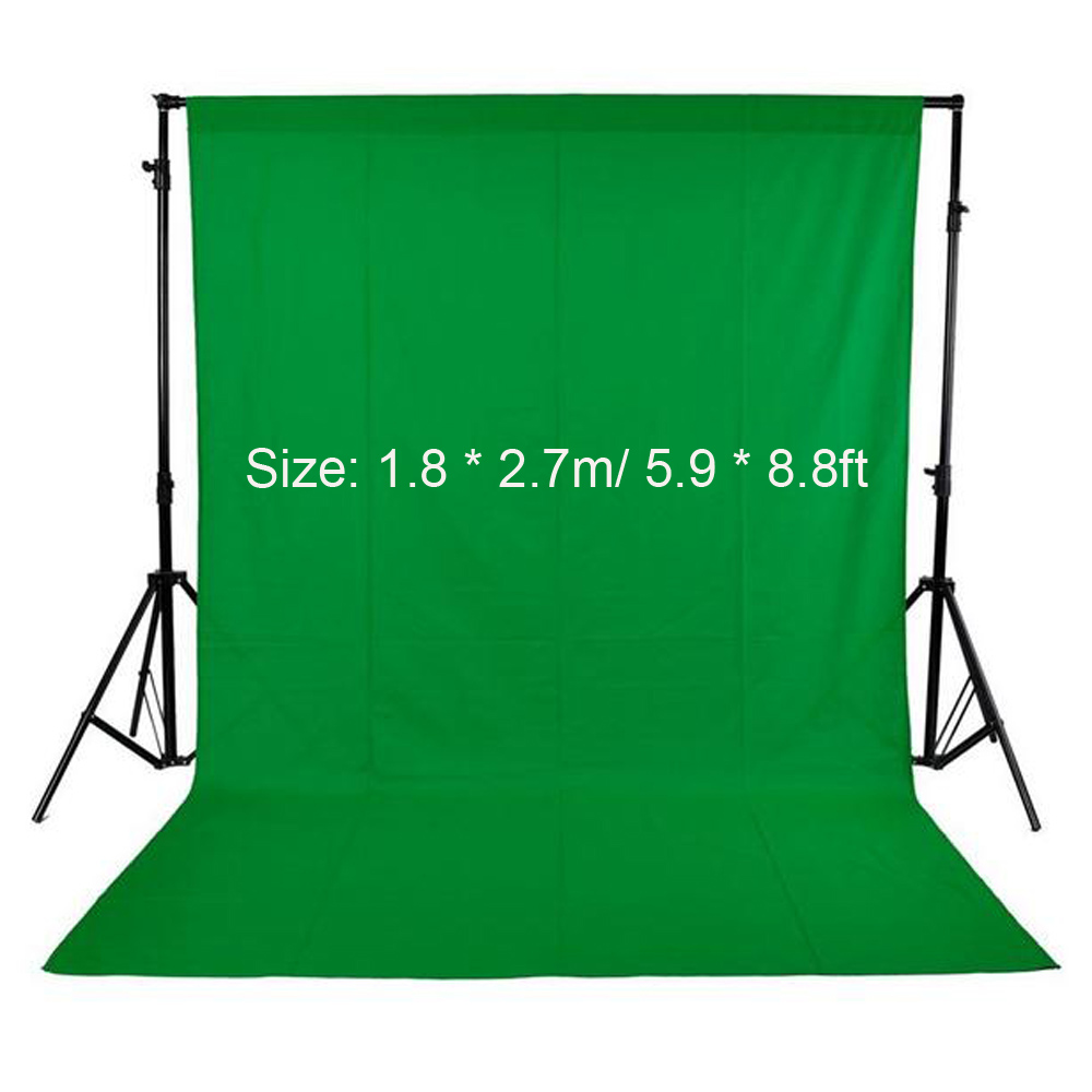 Background Green-Screen Video Fond Studio Photography White for Nonwoven Black