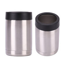12oz double-layer 304 stainless steel insulated beer cans Coke outdoor ice car cups