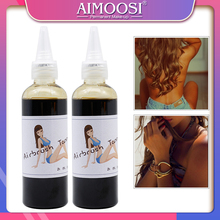 1 şişe altın anka geçici dövme makyaj Pigment Airbrush sprey bronzlaşma mürekkep 8% DHA güzellik malzemeleri
