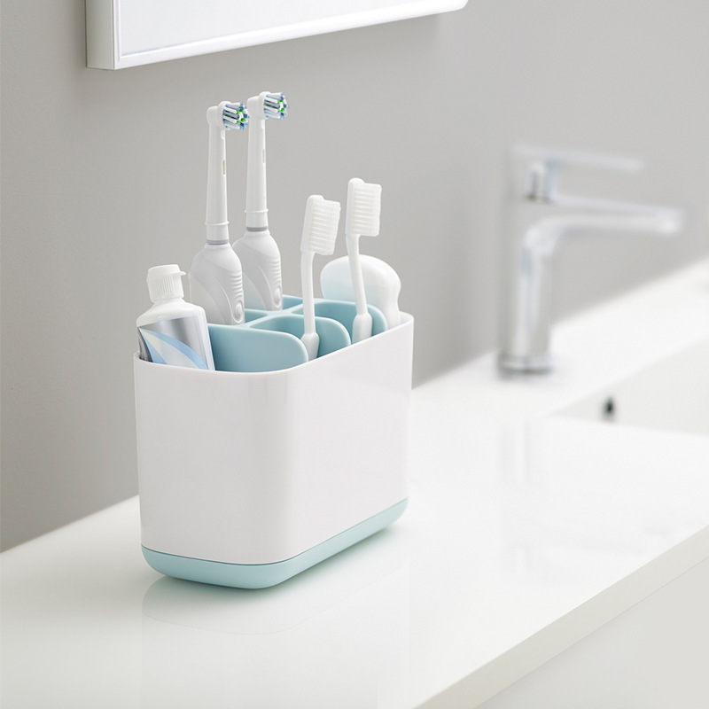 4 Color Toothbrush Holder Automatic Toothbrush Toothpaste Dispenser Holder Electric Toothbrush Storage Box Bathroom Accessories