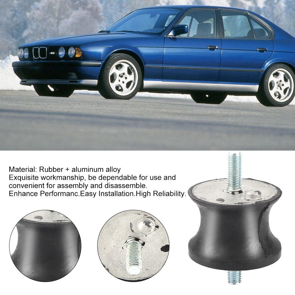 2Pcs Transmission Mount Aftermarket Replacement Car Parts Accessory for E32 E34 E36 E38 E39 E46 23711131664