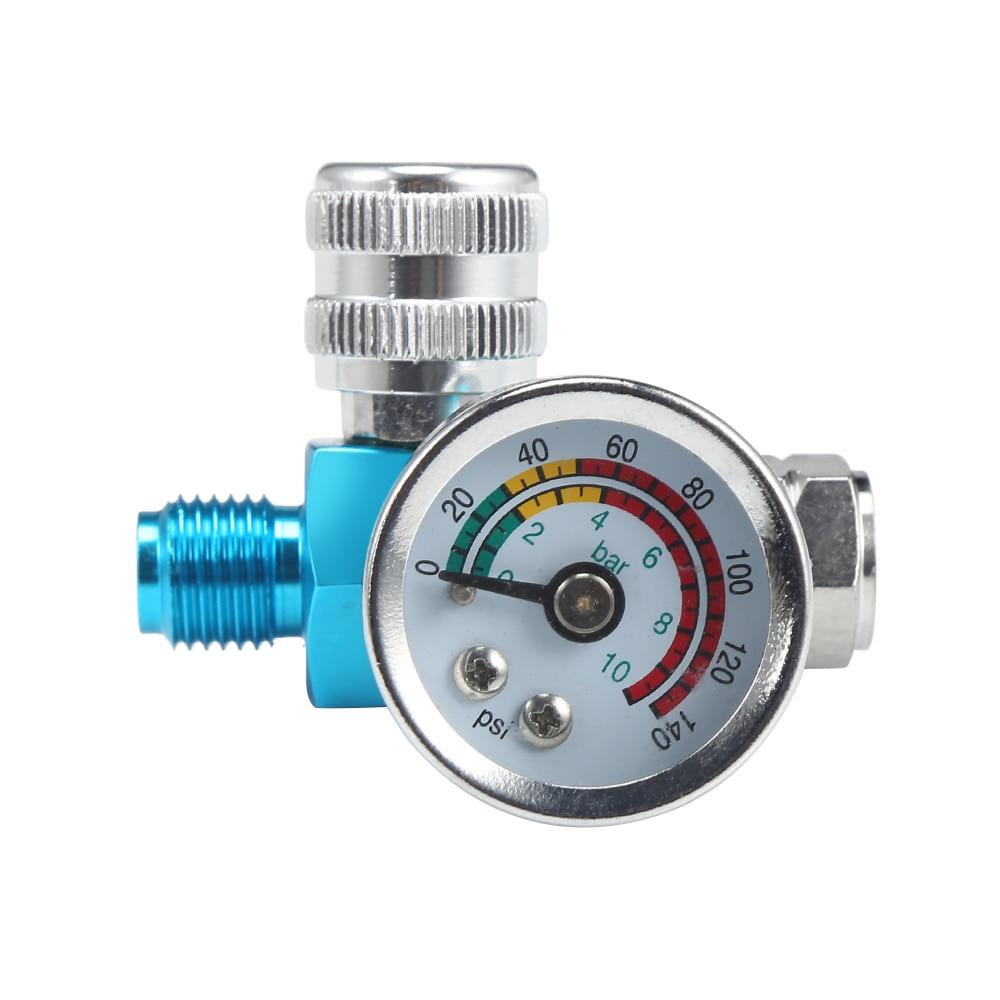 Spray Paint Gun Air Regulator Tool Pressure Gauge Gauge Adjustable Regulating Gauge Air Tools