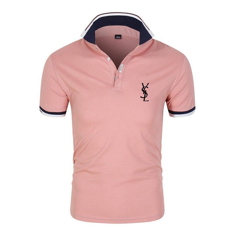 Summer Men's Polo Shirt 2021 Fashion Shirt Polos Homme Oversized Business Short Sleeve Casual Men's Women's Streetwear Top Tees